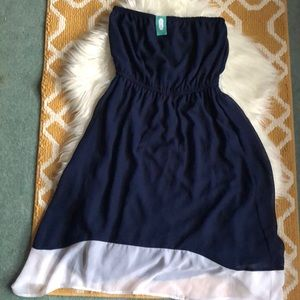NWT strapless maurices (studio y) dress size M